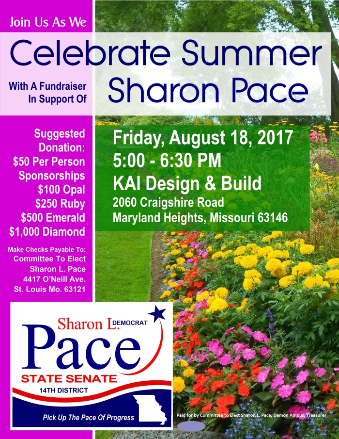 Pace August 2017 Fundraiser