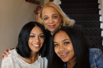 Pic With Granddaughters